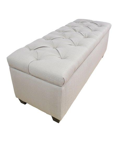 Awe Inspiring The Sole Secret Off White Diamond Tufted Secret Storage Inzonedesignstudio Interior Chair Design Inzonedesignstudiocom