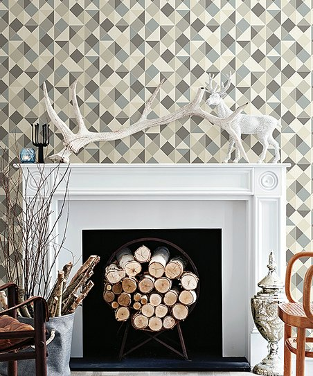 WallPops! Geometric Peel   Stick Wallpaper  e067e1fbdf