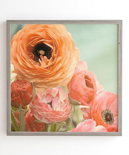 Deny Designs Bree Madden Spring Ranunculus Framed Wall Art Best Price And Reviews Zulily