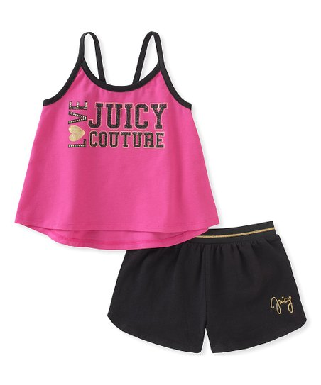 love this product Hot Pink  Juicy Couture  Tank   Shorts - Girls f732bae6c