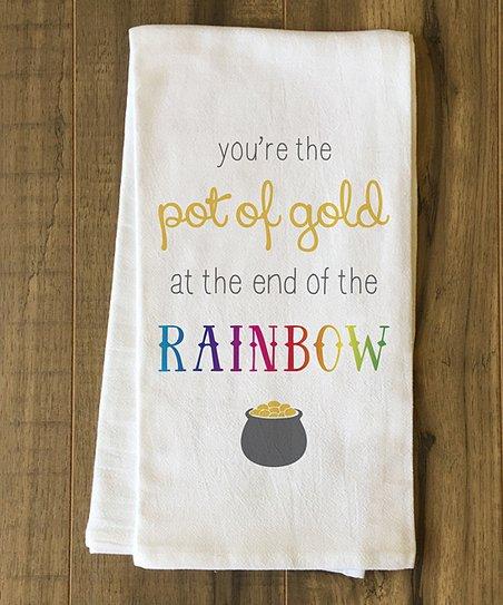 'Pot of Gold' Kitchen Towel