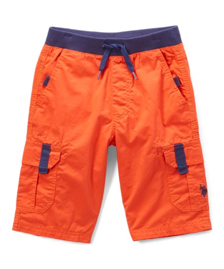 34a95bfe8007 love this product Warm Coral Cargo Shorts - Boys