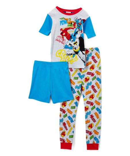 d7efdcbbf Justice League Three-Piece Pajama Set - Boys
