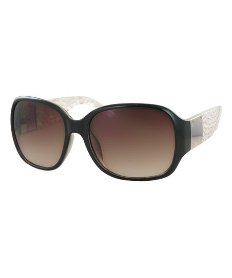 c0aadc4bd6fa8 love this product White   Gold Wickedly Gorgeous Oversize Sunglasses