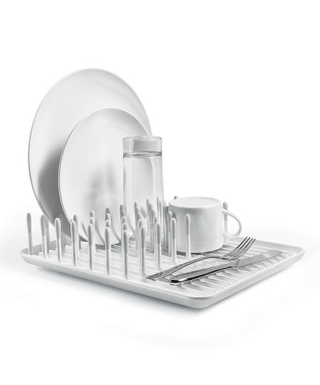 OXO Good Grips White   Gray Dish Rack  3660f87dc3