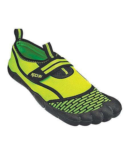 c2f3995cdc8 Rockin Footwear Green Aqua Power Foot Water Shoe - Men