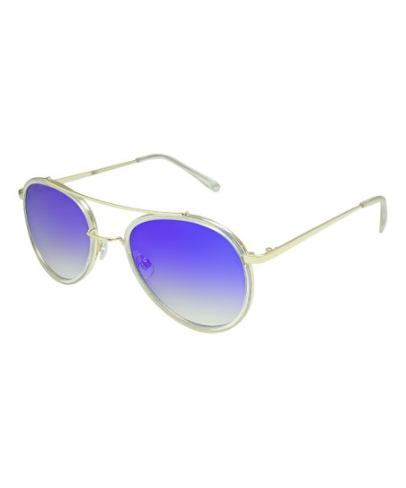 8f6e7d311198 love this product Silver   Violet Mirror Aviator Sunglasses