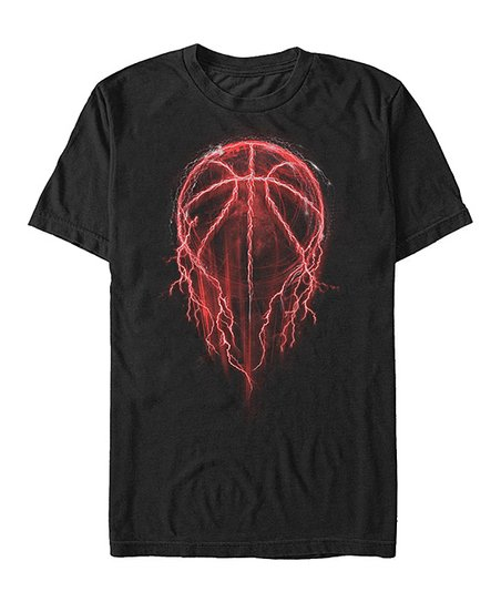 b525a984 Chin Up Apparel Black Lightning Basketball Tee - Men   Zulily