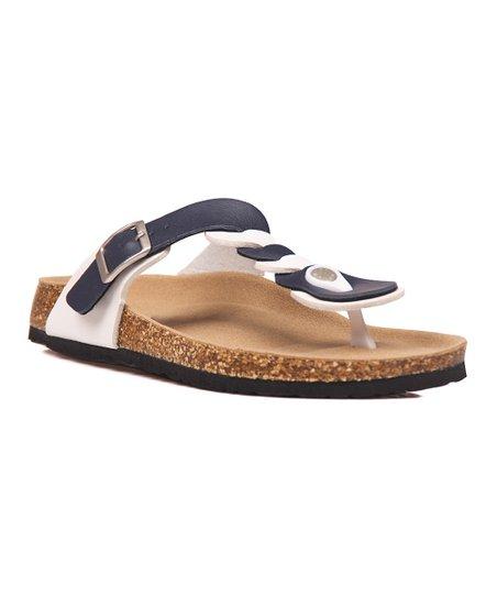 0597a967c85 love this product Black   White Twist T-Strap Sandal - Women