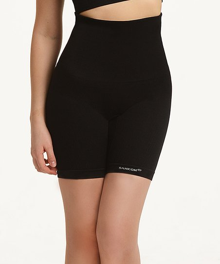 fe20c91b3040d SANKOM® Black Classic Graduated Compression Shaper Shorts - Women ...