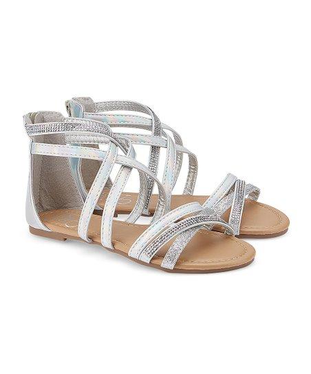 Olivia Miller Girl Silver Embellished