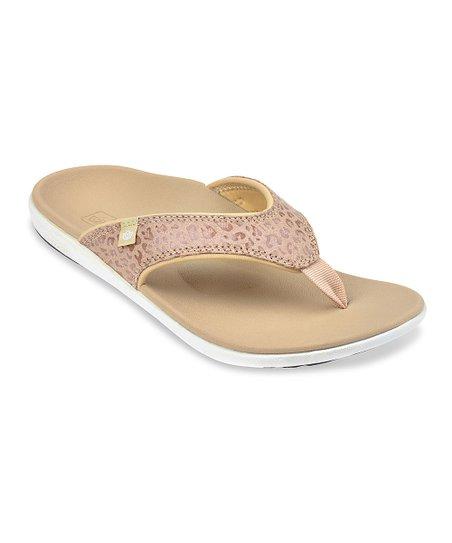 eb79358809ee love this product Tan Cheetah Sandal - Women