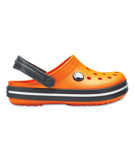 Crocs Blazing Orange \u0026 Slate Gray