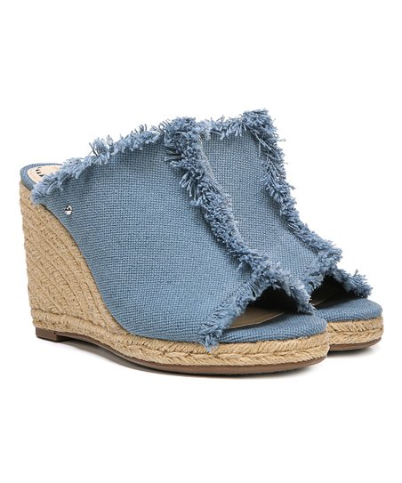 743c95d33c11 Circus by Sam Edelman Blue Denim Baker Sandal - Women