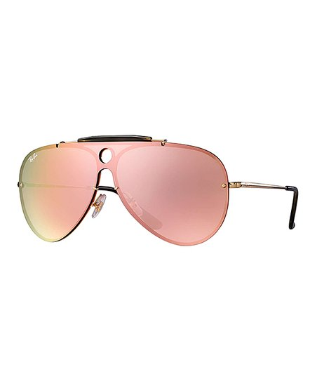 5c5ef3556d3d love this product Gold   Pink Mirror Modified Aviator Sunglasses