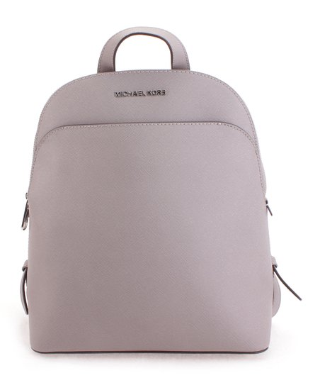 1da648520f1b Michael Kors Pearl Gray Emmy Leather Backpack | Zulily