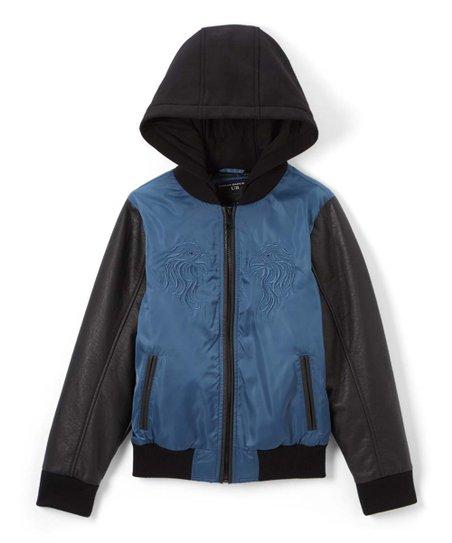 Infant//Toddler Urban Republic Kids Baby Girls Embroided Sateen Bomber Jacket