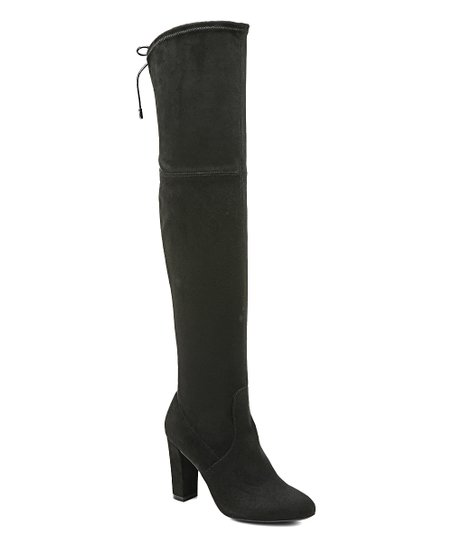 b7ab4ee8900 Fergalicious by Fergie Black Gladice Over-the-Knee Boot - Women