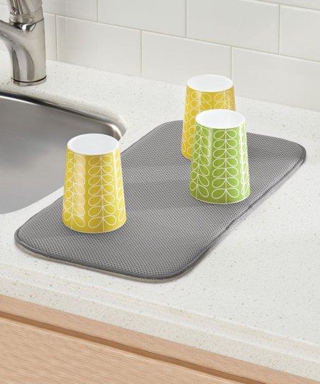 iDesign Pewter iDry Kitchen Drying Mat | Zulily
