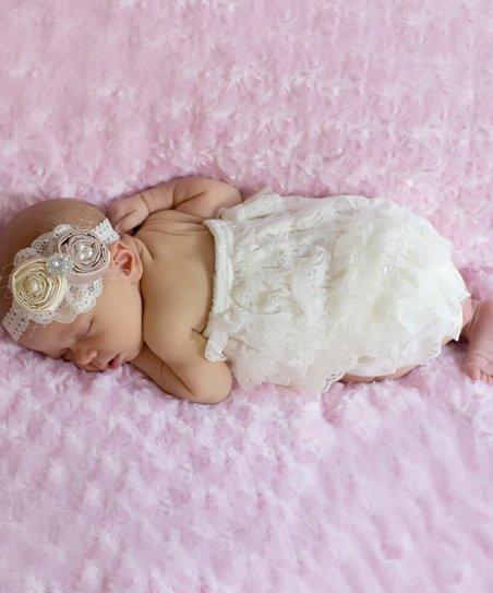e0d611147e4 love this product Ivory Lace Romper - Newborn   Infant