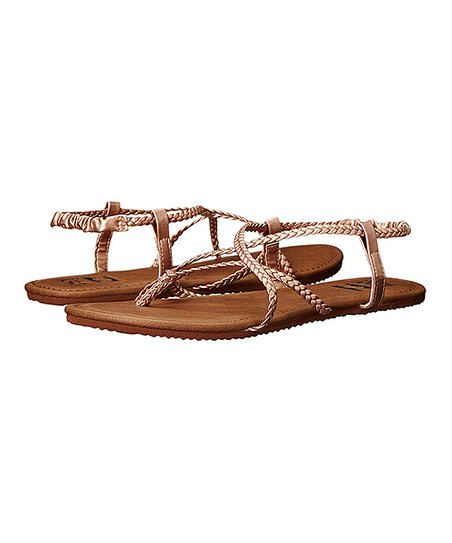 ec0924986 love this product Rose Gold Crossing Over Sandal - Women