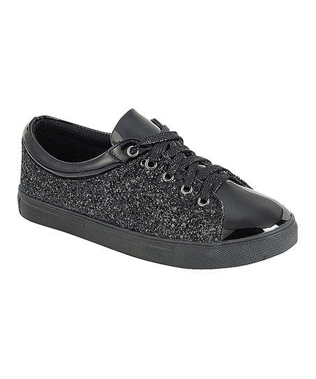 Black Sparkle Sneaker - Women | Best