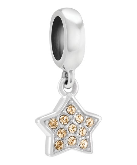 b8aef4d5e92 love this product Yellow Petite Star Charm Bead With Swarovski® Crystals