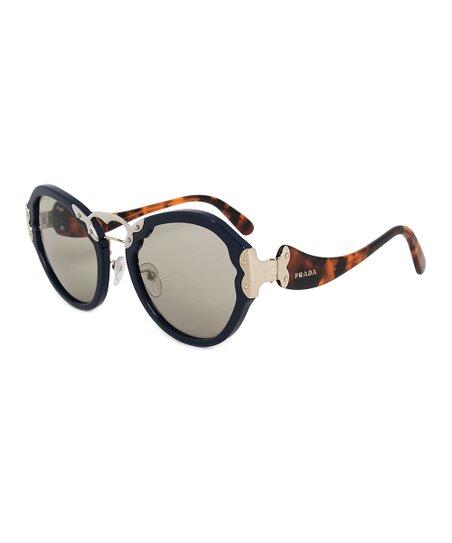 33afc896a8f Prada Black   Tortoise Oversize Sunglasses