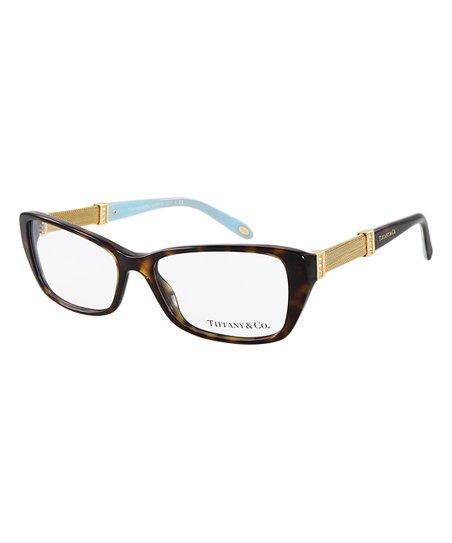 3de5c75dd00d Tiffany   Co. Havana Rectangle Eyeglasses