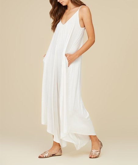 f2d034e466c love this product Off-White Side-Pocket Sleeveless Jumpsuit - Women