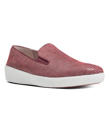 15bb92a13cb4e love this product Spice Superskate Lizard-Print Suede Slip-On Sneaker -  Women
