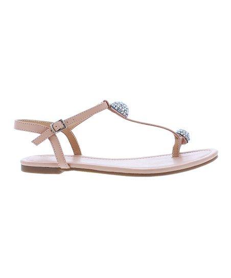 Liliana Footwear Nude Aurora Sandal - Women