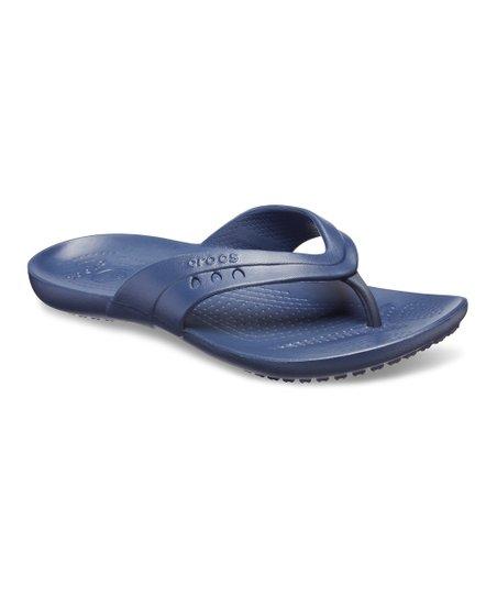 81b53986c7de44 love this product Navy Kadee Flip-Flop - Women
