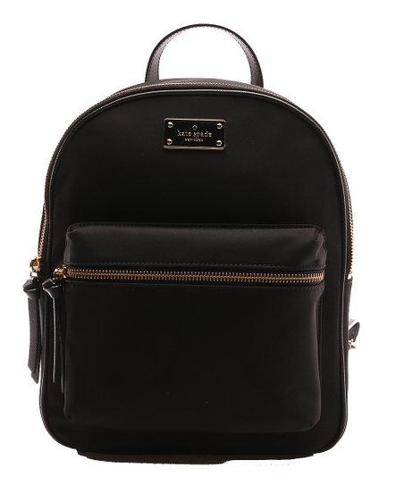 ca6cb29f9 Kate Spade Black Wilson Road Bradley Leather Backpack | Zulily