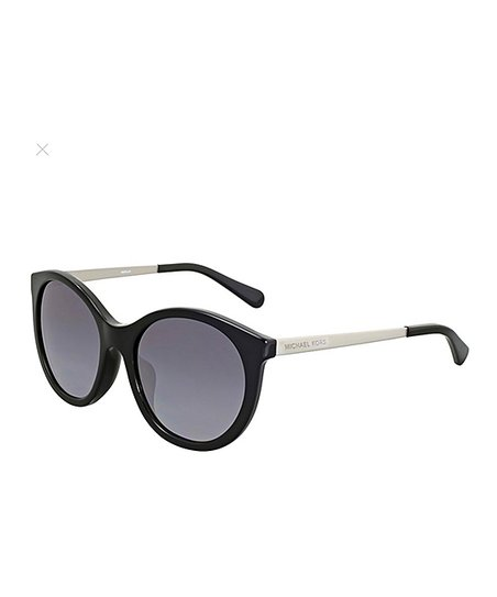 27da11c4000db Black Round Island Tropics Sunglasses · Womens Frame color  Black Silver   Lens color  Grey Gradient Polarized ...