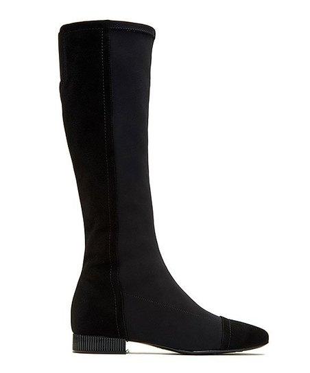 7e2a768010e720 Taryn Rose Black Antonia Suede Boot - Women