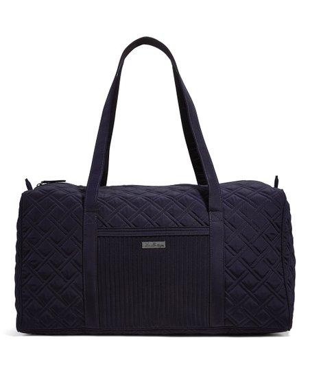 Classic Navy Large Duffel Bag