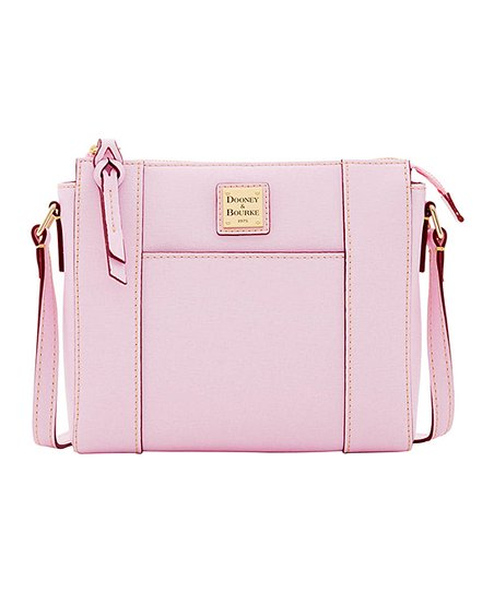 Light Pink Lexington Leather Crossbody Bag