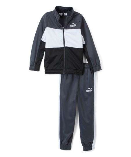 2002ddc29f4a love this product Iron Gate   White  Puma  Track Jacket   Sweatpants - Boys