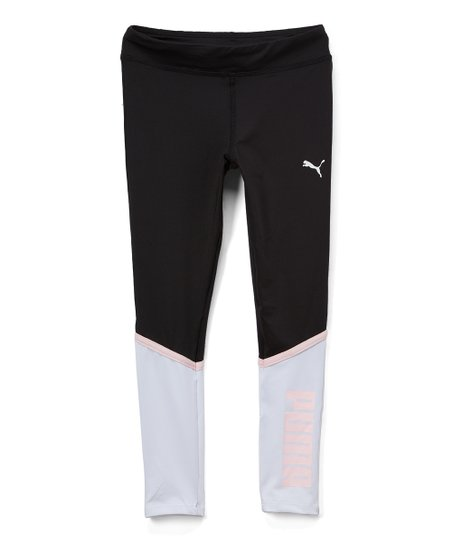 PUMA Girls Tights with Color Block