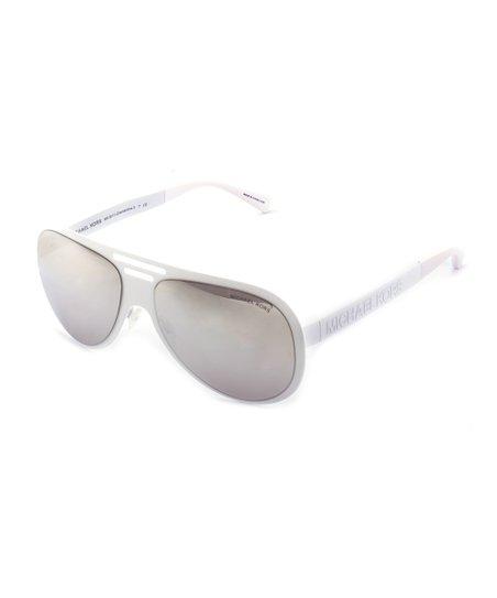 1d15991e08bf Michael Kors White Clementine Sunglasses | Zulily