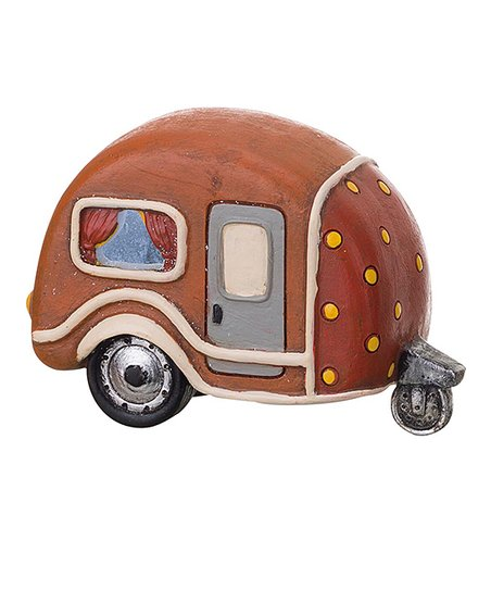 Brown Mini Camper Figurine Zulily