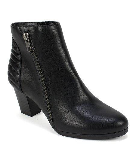 b9c612ca751e Rialto Black Fallon Ankle Boot - Women