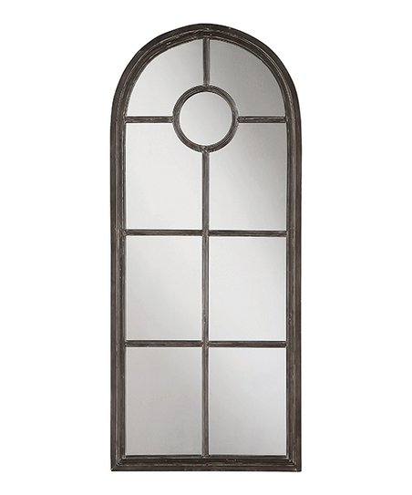 love this product Distressed Black Metal Framed Mirror 9c89fd1c07