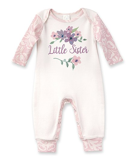 688c9fe654f4 love this product Ivory   Floral  Little Sister  Romper - Newborn   Infant