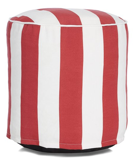 Pleasing Hrh Designs Burgundy Cabana Stripe Cylinder Indoor Outdoor Ncnpc Chair Design For Home Ncnpcorg