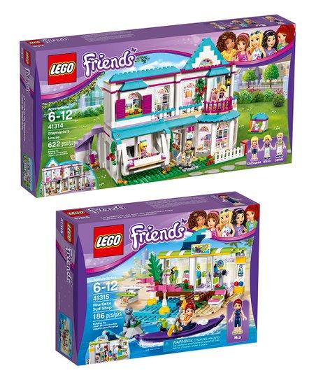 Lego Friends Heartlake Surf Shop Stephanies House Zulily