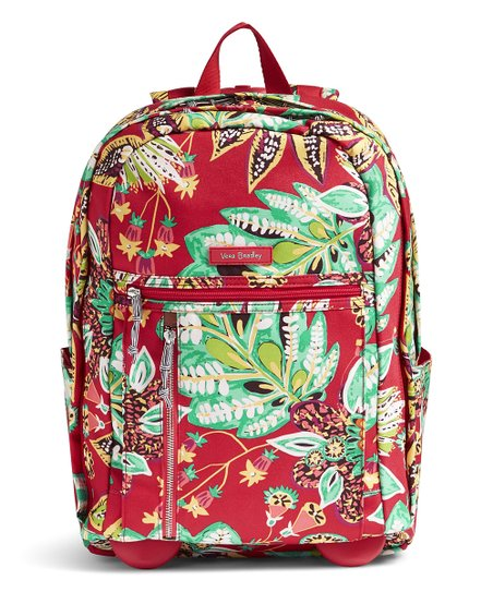 Vera Bradley Rumba Lighten Up Rolling Backpack   Zulily c18f9c6ca4