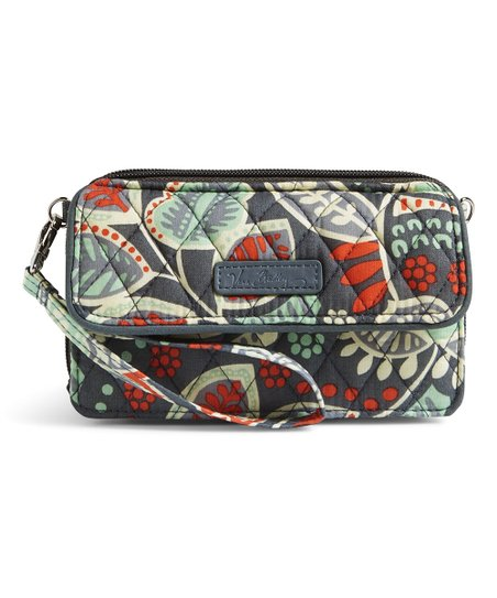 brand new be71e a7c09 Vera Bradley Nomadic Floral All in One Crossbody Bag for iPhone 6 Plus