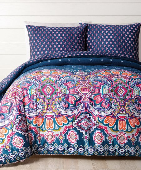 Vera Bradley Sedona Medallion Cotton Comforter Set Zulily